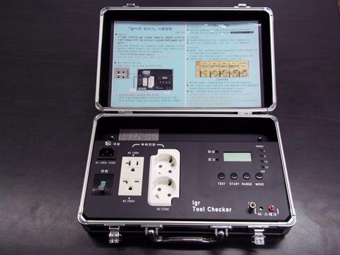 JS-0608T IGR EarthLeakage Checker