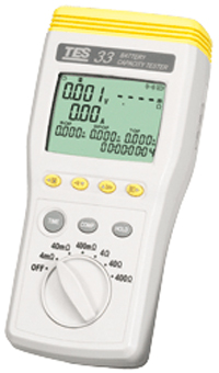 TES 33 Battery Capacity Tester